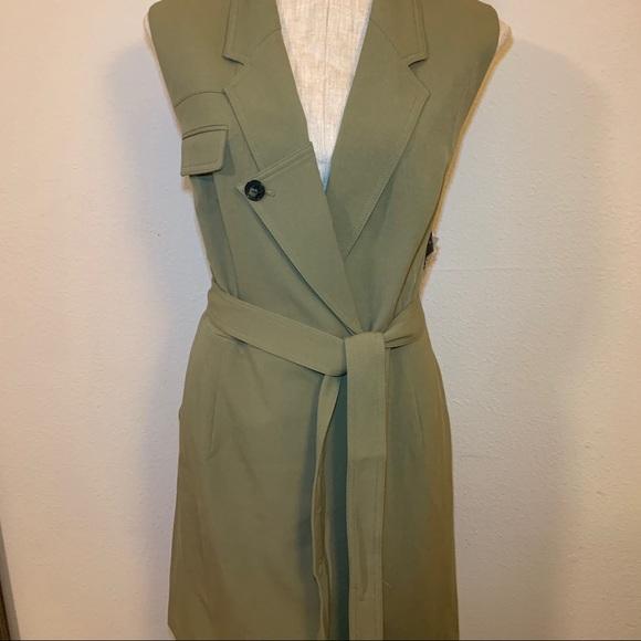 Nine West Jackets & Blazers - Nine West olive tie vest